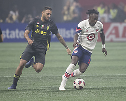 August 1, 2018 - Atlanta, Georgia - Atlanta, Georgia - August 1, 2018: Mercedes Benz Stadium, MLS All-Star Game.  Final score Juventus 1, MLS All-Stars 1, Juventus wins 5-3 on penalty kicks. (Credit Image: © Steven Limentani/ISIPhotos via ZUMA Wire)