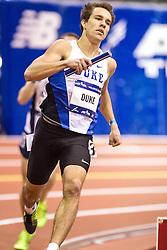 Millrose Games: college mens 4x800m relay, Duke wins