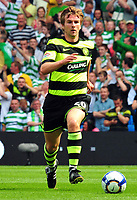 Fotball<br /> England<br /> 08.08.2009<br /> Manchester City v Celtic<br /> Foto: Colorsport/Digitalsport<br /> NORWAY ONLY<br /> <br /> Paddy McCourt (Celtic)