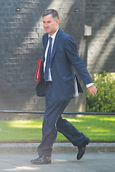 Work and Pensions Secretary David Gauke arrives at 10 Downing Street in London for a Cabinet meeting.