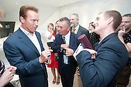 California Governor Arnold Schwarzenegger visiting Shanghai in 2010 / For Austria Expo Comission