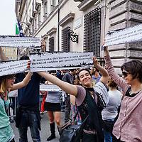 1 Maggio di protesta