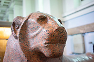 statue of King Amenhotep III as a lion (about 1390-1352 BC)