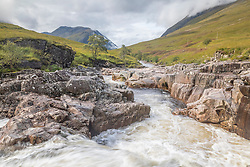 Glen Etive leads from Glencoe to Loch Etive and was made famous as as a location in the James Bond film Skyfall,