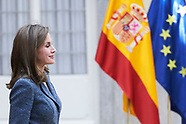 112117 Queen Letizia attends a Meeting of the Council of the Royal Board on Disability