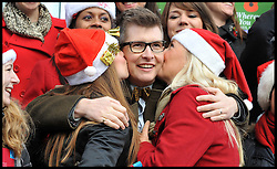 File Picture of.... Gareth Malone with his Military wifes Choir. As they wait to see if they get the Christmas No 1..Choirmaster (Malone) and his Members of the Military Wives Choir launch their bid for the Christmas Number One by performing to the masses at the central HMV store. Their single, Wherever You Are is currently set to beat Little Mix's Cannonball for the festive top spot,  Tuesday December 20, 2011. Photo By Andrew Parsons/ i-Images
