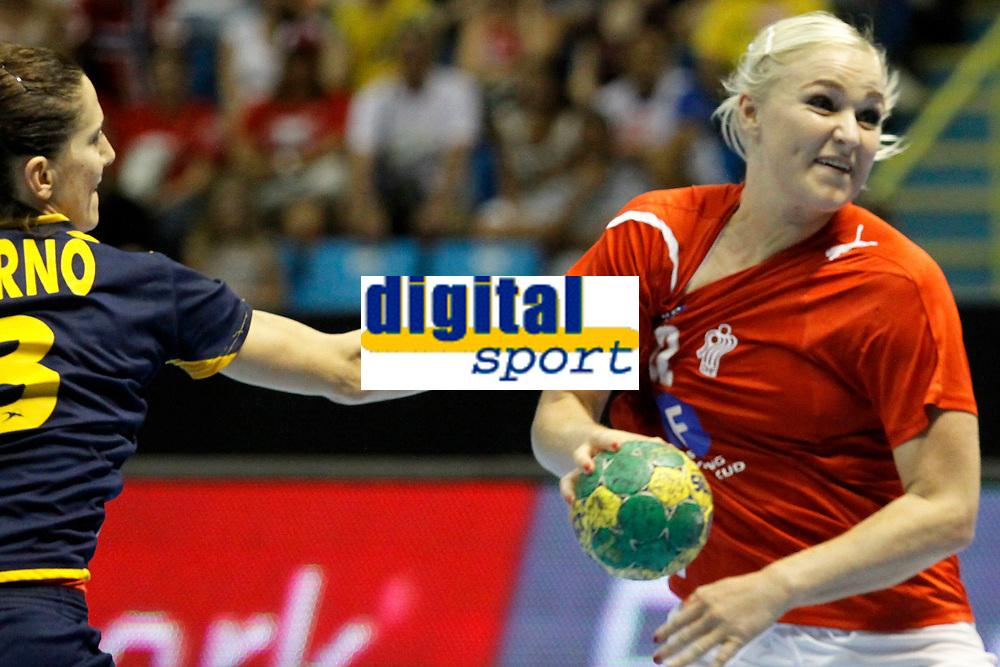 20111218: SAO PAULO, BRAZIL - Player Barno (SP) Mortensen (DN)  at Denmark vs Spain semi final match of the XX World Handball. 3rd and 4th places<br /> PHOTO: CITYFILES