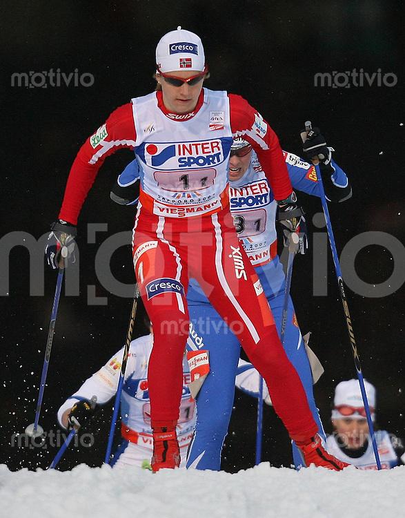 Sapporo , 230207 , Nordische Ski Weltmeisterschaft  Teamsprint der Frauen ,  Astrid JACOBSON (NOR)