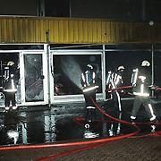 Brand Opeldealer Fred Janssen Ambachtsweg Huizen,