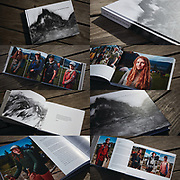 "PCT People Project - THE BOOK titled ""To Try The Mountain Passes"".<br />