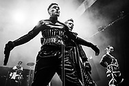 Icelandic techno and industrial band Hatari at Iceland Airwaves