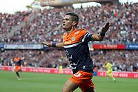 Fotball<br /> Frankrike<br /> 09.08.2013<br /> Foto: Panoramic/Digitalsport<br /> NORWAY ONLY<br /> <br /> Montpellier v Paris SG<br /> Remy Cabella feirer scoring for Montpellier