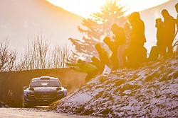 January 26, 2019 - Monaco, Monte Carlo - Pontus Tidemand (SUE) - Jonas Andersson (SUE) - SKODA Fabia R5 - WRC2 (Credit Image: © Panoramic via ZUMA Press)