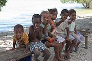 South Pacific, The Republic of Vanuatu Local children