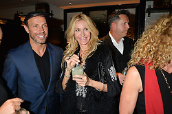 JASON GARDNER and MELISSA ODABASH at a party to celebrate the publication of Honestly Healthy Cleanse by Natasha Corrett held at Tredwell's Restaurant, 4a Upper St.Martin's Lane, London on 14th January 2015.