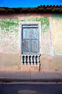 Weathered house in Gibara, Holguin, Cuba.