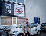 opening boksschool TYR in Rotterdam door Bernhard jr