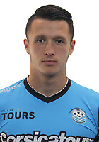 Mayron de Almeida during the during photoshooting of Tours FC for new season 2017/2018 on October 5, 2017 in Tours, France<br /> Photo : Tours FC / Icon Sport