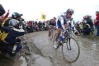 Sykkel<br /> Foto: Dppi/Digitalsport<br /> NORWAY ONLY<br /> <br /> UCI PRO TOUR<br /> PARIS - ROUBAIX 2005 - FRANCE -  10/04/2005 <br /> <br /> JUAN ANTONIO FLECHA (ESP) / FASSA BORTOLO - 3RD