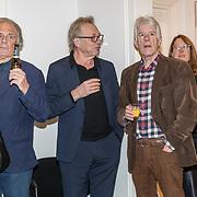 NLD/Amsterdam/20191210 - Rijmprent Ramsey Nasr onthuld, Jan Cremer, Jan Mulder en Kees van kooten