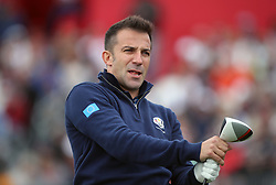 Europe's Alessandro Del Piero during a celebrity golf match ahead of the 41st Ryder Cup at Hazeltine National Golf Club in Chaska, Minnesota, USA.