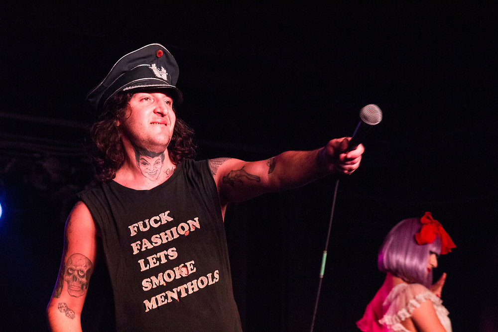 Mickey Avalon performing at The Rave in Milwaukee, WI on February 25, 2016.