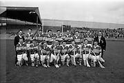 17/10/1965<br /> 10/17/1965<br /> 17 October 1965<br /> Oireachtas Final: Kilkenny v Tipperary at Croke Park, Dublin.<br /> Tipperary team.