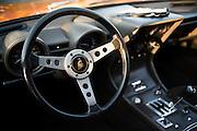 August 14-16, 2012 - Lamborghini North American Club Dinner : Lamborghini 400GT interior