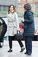 Queen Letizia of Spain, Queen Sofia of Spain visited King Juan Carlos of Spain after his knee surgery at La Moraleja Hospital on April 7, 2018 in Madrid, Spain