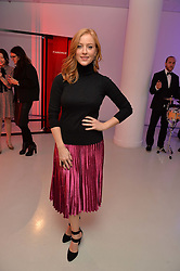 SARAH-JANE MEE at the Fabergé #SayYesInColour Launch held at Rook & Raven, 7 Rathbone Place, London on 20th October 2016.