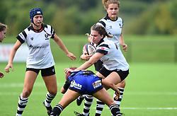 Lillian Stoeger of Bristol Bears Women - Mandatory by-line: Paul Knight/JMP - 02/09/2018 - RUGBY - Shaftsbury Park - Bristol, England - Bristol Bears Women v Dragons Women - Pre-season friendly