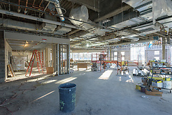 Central High School Bridgeport CT Expansion & Renovate as New. State of CT Project # 015-0174. Media Center. One of 84 Photographs of Progress Submission 11, 04 January 2016