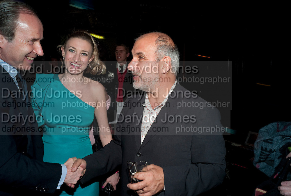 SIMON DE PURY; ROSIE ALLERHAND; ALAN YENTOB, ICA Annual Institute of Contemporary Arts Fundraising Gala. Koko's Camden. London. 24 March 2010
