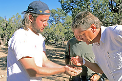 Dan Sorrell & Alan Sullivan Looking At items From Sifting