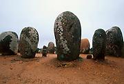PORTUGAL, ALENTEJO Os Almendres megalithic stone circle