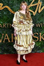 Molly Goddard attending the Fashion Awards in association with Swarovski held at the Royal Albert Hall, Kensington Gore, London