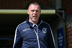 Bristol Rovers manager Graham Coughlan arrives at the stadium Mandatory by-line: Arron Gent/JMP - 19/04/2019 - FOOTBALL - Cherry Red Records Stadium - Kingston upon Thames, England - AFC Wimbledon v Bristol Rovers - Sky Bet League One