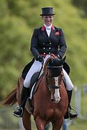 FERNHILL FACETIME ridden by Zara Tindall during the dressage at Bramham International Horse Trials 2017 at Bramham Park, Bramham, United Kingdom on 11 June 2017. Photo by Mark P Doherty.
