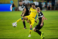 21.07.2016, Sports Park, Domzale, SLO, UEFA EL, NK Domzale vs Shakhtar Donetsk, Qualifikation, 2. Runde, Rueckspiel, im Bild Antonio Mance of NK Domzale // during the UEFA Europaleague Qualifier 2nd round, 2nd leg match between Grasshopper Club and KR Reykjavik at the Sports Park in Domzale, Slovenia on 2016/07/21. EXPA Pictures © 2016, PhotoCredit: EXPA/ Sportida/ Vid Ponikvar<br /> <br /> *****ATTENTION - OUT of SLO, FRA*****