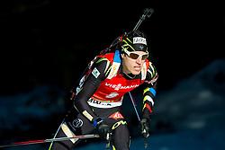 FILLON MAILLET Quentin (FRA) competes during Men 12,5 km Pursuit at day 3 of IBU Biathlon World Cup 2014/2015 Pokljuka, on December 20, 2014 in Rudno polje, Pokljuka, Slovenia. Photo by Vid Ponikvar / Sportida