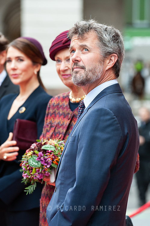 05.10.2021. Copenhagen, Denmark.<br /> Crown Prince Frederik's arrival to Christiansborg Palace for attended the opening session of the Danish Parliament (Folketinget).<br /> Photo: © Ricardo Ramirez