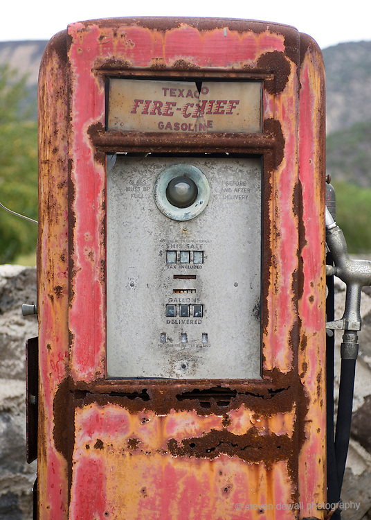 Classic Gas Museum in Embudo, New Mexico