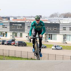 SITTARD (NED) WIELRENNEN<br />De elite-beloften van Allinq-Krush-De IJsselstreek zijn op trainingskamp in Limburg. Dennis van der Horst