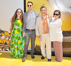"""Andy Nyman and Family arrives at the """"Despicable Me 3"""" Los Angeles Premiere held at the Shrine Auditorium in Los Angeles, CA on Saturday, June 24, 2017.  (Photo By Sthanlee B. Mirador) *** Please Use Credit from Credit Field ***"""