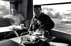 Transport cafe, UK 1990s