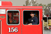 7 May 2009 - Santa Barbara, CA - Jesusita Wildfire Base Camp at the Earl Warren Showgrounds.  Fire crews were preparing to battle a third day of fires in the foothills of in Santa Barbara, California.  Photo Credit: Rod Rolle/Sipa Press,  21 August 2009-Santa Barbara, CA: