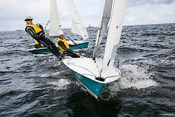 , Kiel - SAP 505er World Championship 2014, 505er, ITA 8916, Marco GIRALDI, John McLEAN,