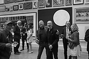KEITH MILOW, JOCK MCFADYAN, Non Members Varnishing Day, Royal Academy of art Summer Exhibition. Piccadilly. London. 31 Nay 2019