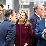 NLD//Amsterdam/20160422 - Opening Koningspelen 2016, Maxima en Willem-Alexander en Richard Krajicek