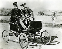 1900 General Moses Sherman (R) & Sheriff A Hammel in Sherman, now West Hollywood